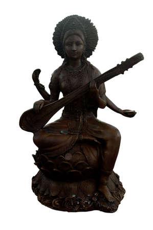 saraswati: Saraswati statue
