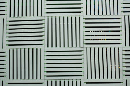 lath in modern: Lath texture wall Stock Photo