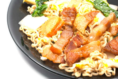 Fired noodle Stock Photo - 17588858
