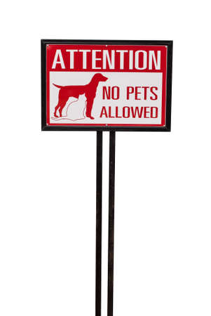 no animal allowed sign photo