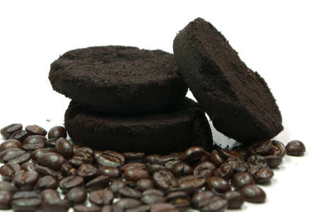 espesso: coffee ground and coffee bean
