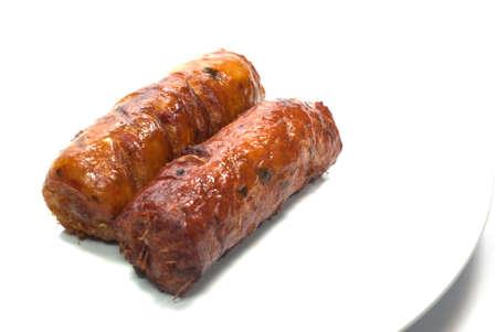 northeastern: Northeastern Thai style grilled pork sausages
