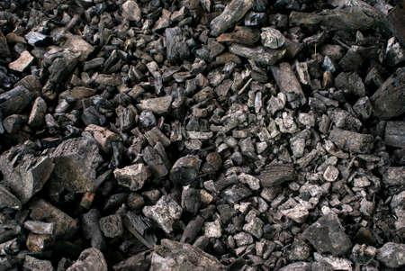 Coal seamless background. Stock Photo