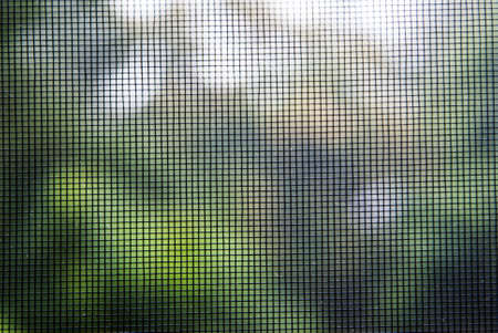 Mosquito wire screen texture on the window for background