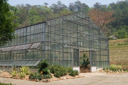 Greenhouse in Queen Sirikit Botanical Gardens, Chiangmai, Thailand
