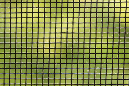 Close up mosquito wire screen photo