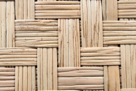 Texture of thai bamboo weave photo