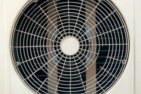 Old condenser fan air background photo