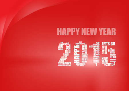 goodluck: Vector : happy new year 2015 background