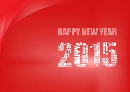 goodluck: Vector : happy new year 2015 background