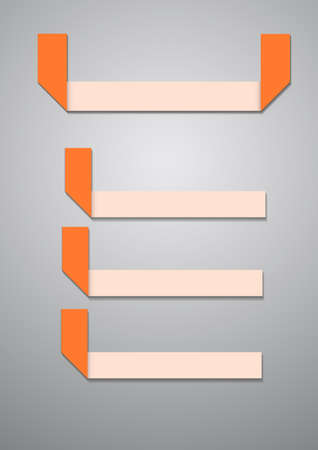 topic: Vector : Fold paper for topic background