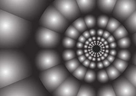 radius: Vector : Abstract radius of circle background