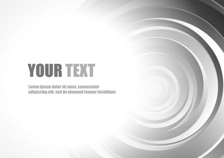 style background: Abstract circle style background and space for text