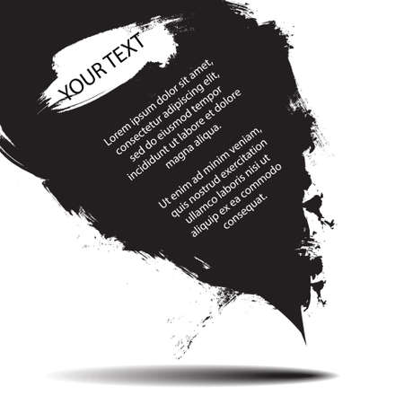 grunge banner: Vector : Grunge banner for text