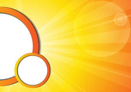 sun shine: Vector : Abstract yellow stripe sun shine