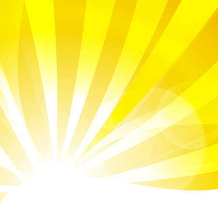 empty space for text: Vector : Abstract yellow stripe sun shine and empty space for text