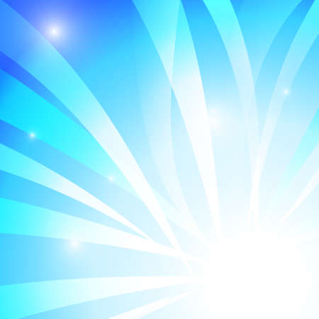blue stripe: Vector : Abstract blue stripe with white background