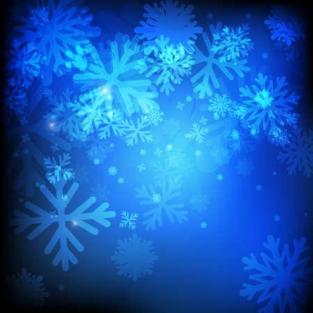 Vector : Ice crystal Illustration