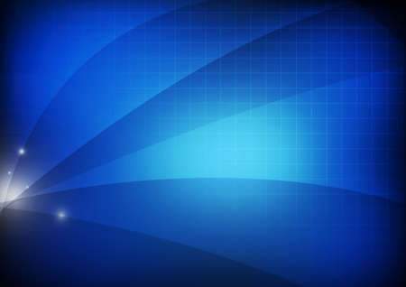 Vector : Abstract stripe on blue background