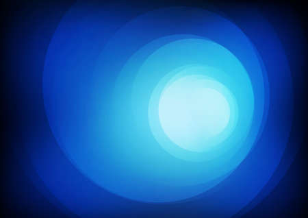 Vector : Abstract circle on blue background Illustration