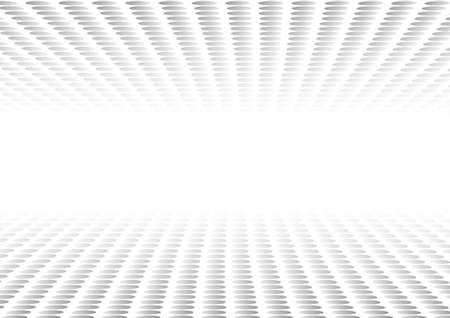 Vector : Abstract gray circles on white background Ilustração