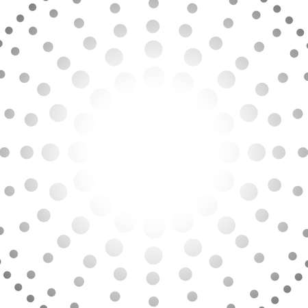 Vector : Abstract gray circle on white background