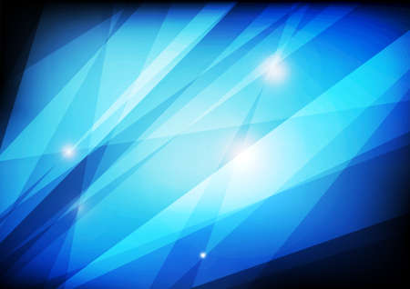 Vector : Blue stripes on blue background