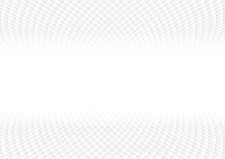 Vector : Abstract white and gray square texture on white background
