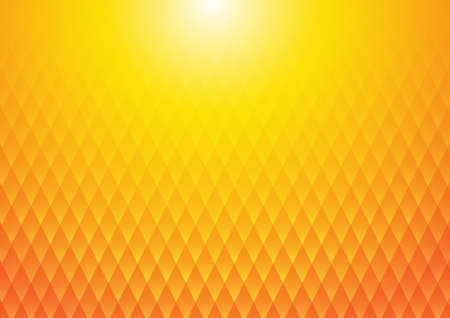 Vector : Abstract texture square on orange and yellow background Reklamní fotografie - 140646269