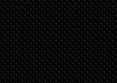 Vector : Abstract black metal texture on black background Vettoriali