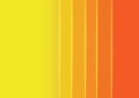 Vector : Abstract orange stripes and shapes background Illustration