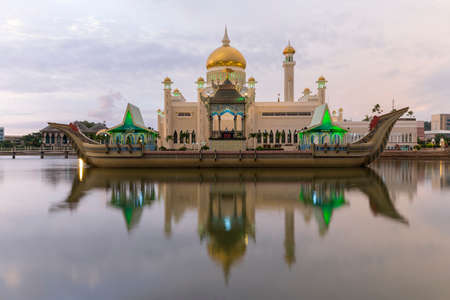 seri: Sultan Omar Ali Saifuddien Mosque is an Islamic mosque located in Bandar Seri Begawan, the capital of the Sultanate of Brunei. Considered as one of the most beautiful mosques in the Asia Pacific, it is a place of worship for the Muslim community, a major