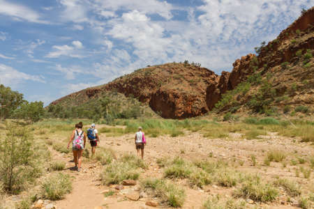 tjuta: This photo was shot from Alice Springs which located in Northern Terrritory, Australia. This is the dry area of Australia. There are many of Aboriginals stay there.