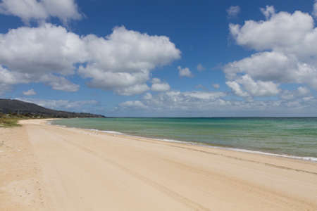 st kilda: This photo was shot from Brighton Beach in Melbourne, Australia. Stock Photo