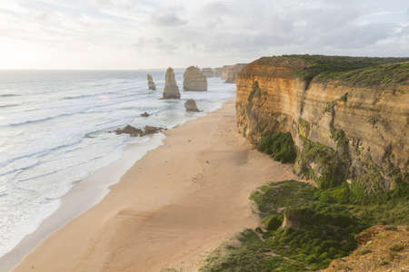 apostles: This photo was shot from Twelve Apostles which is on the Great Ocean Road, Australia.