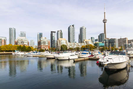 niagara falls city: This photo was shot from Toronto city in autumn.