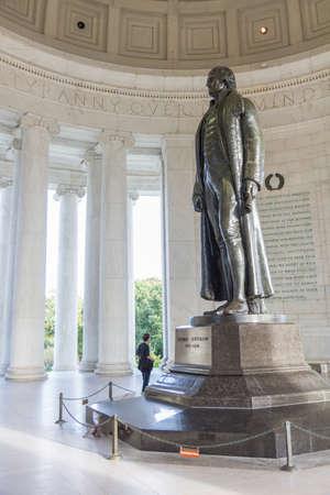 thomas: Thomas Jefferson Memorial in Washington DC, USA