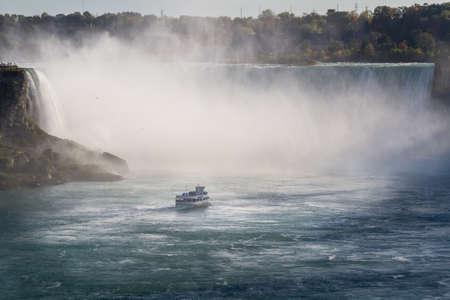 niagara falls city: This photo was shot from Niagara Falls in Canada side.