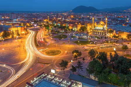 seljuk: Kayseri, This photo was shot from the city center of Kayseri, Turkey. It located in the center of Turkey.