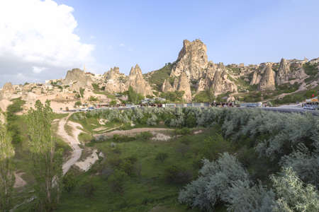 goreme: Cappadocia, This photo was shot from Cappadocia which located in the center of Turkey. Cappadocia is an ancient region of Anatolia. The landscape is so beautiful and rich of history.