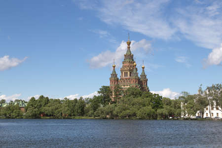 petergof: Petergof  in Petrodvortsovy District of the federal city of St. Petersburg,