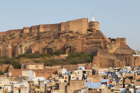 Jodhpur is the second largest city in Rajasthan, India. It is known as the
