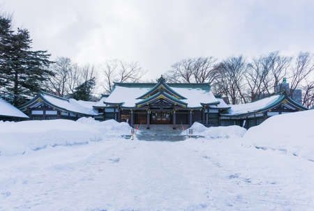 Sapporo Gokoku Shrine is located in Sapporo, next to Nakajima Park on the southern side. The shrine was founded in 1888. It was built in honor and to comfort the spirits of the Tsunada soldiers who fought during the Meiji period.