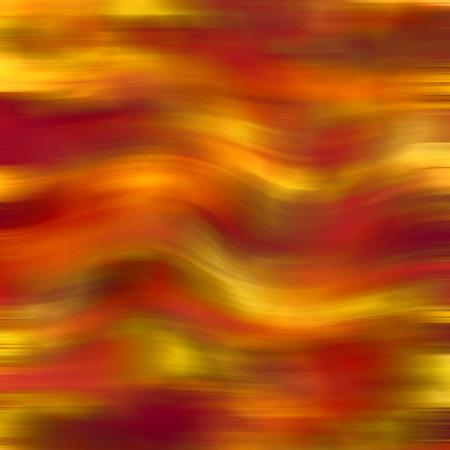 red golden waves background illustration