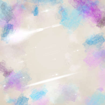 multi color: light background with multi color smoke illustration Stock Photo