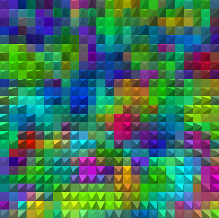 multi color mosaic background  pyramids illustration