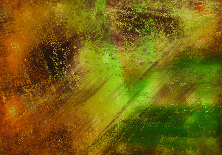 green ink: orange green ink splatter background illustration