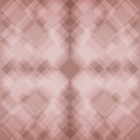 pink and brown: pink brown diamond squares background illustration Stock Photo