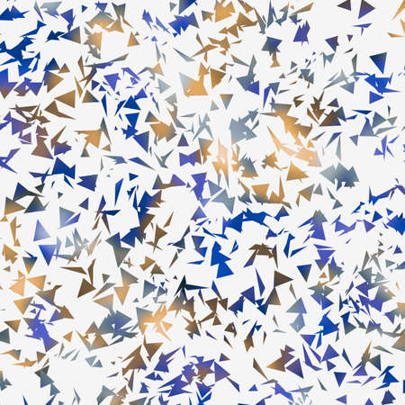 royal background: royal blue yellow falling triangles background
