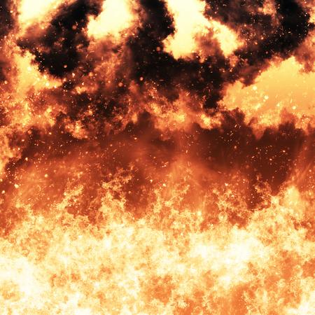 infernal: fire explosion